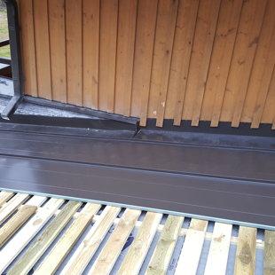 valcprofila pieslēguma pie sienas iestrāde
