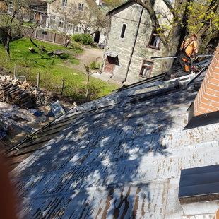 jumta loga iestrāde segumā